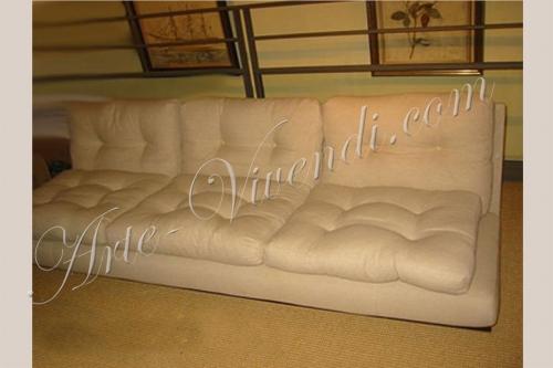 canape zen lin couleur beige canape sans pied